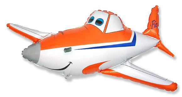 Самолёт оранжевый (53*110см)