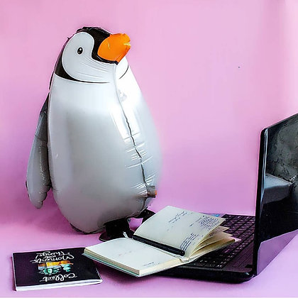 Фольгированный пингвин (80см)