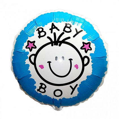 """Фольгированный шар """"Baby boy""""(45см)"""