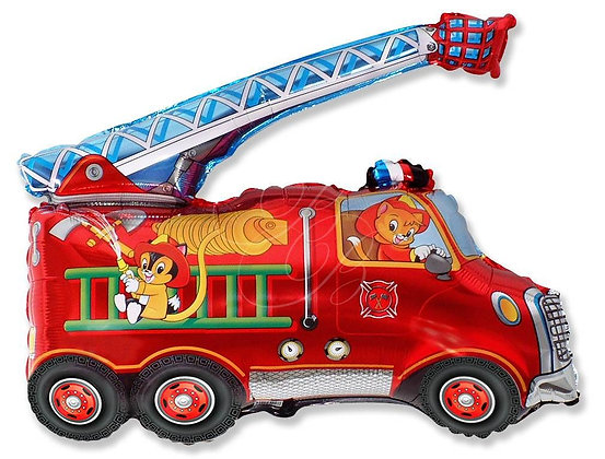 Пожарная машина (70*80см)