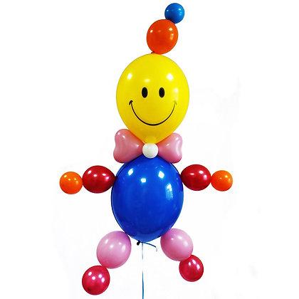 Клоун с гелием (70см)