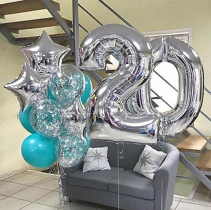 Композиция для Дня Рождения №132
