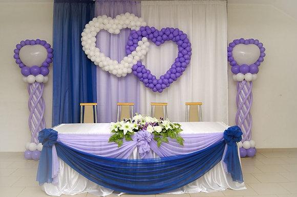 Оформление свадьбы №1