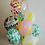 "Thumbnail: Фольгированный круг ""Happy Birthday (ананас)"" (45см)"