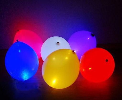 Светящиеся шары с воздухом 10 (шт)