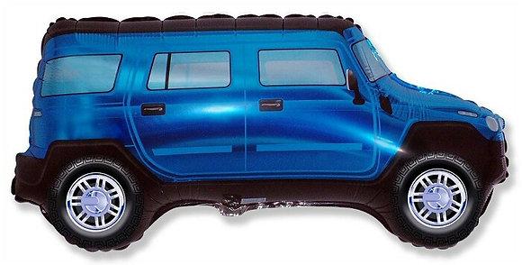 Синий джип (56*96см)