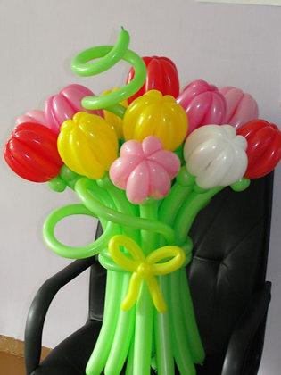 """Букет """"Нежный тюльпан"""" (15шт) (100см)"""