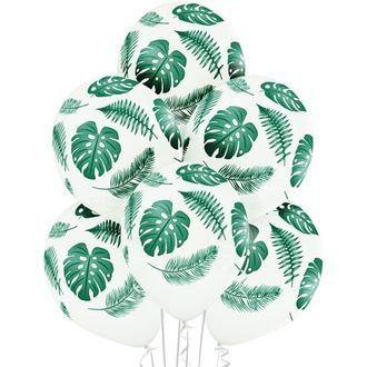 """Облако шаров """"Листья пальмы"""" (10шт)"""