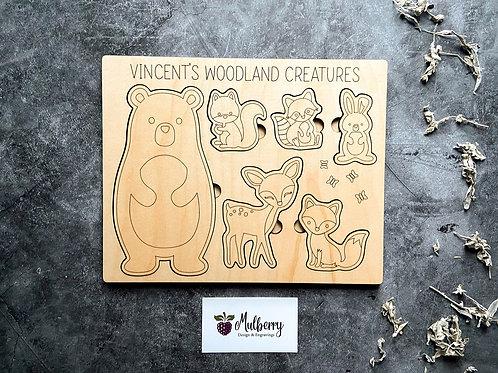 Woodland Creatures Puzzle