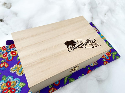 Basswood Medicine Box