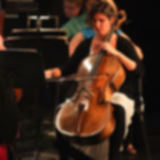 Performing at theTaneycomo Festival Orchstra (pc: Steven Smith)