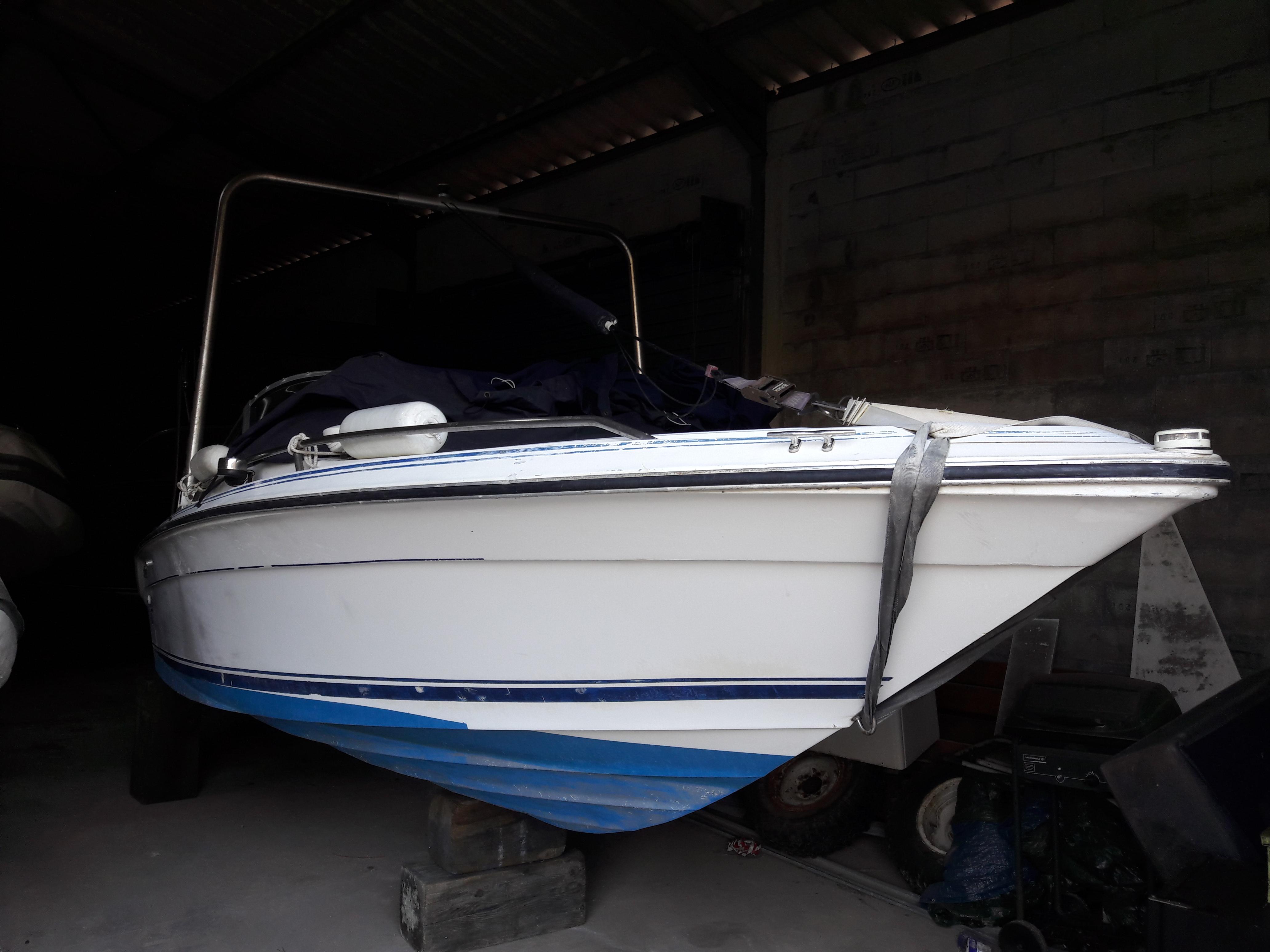 Sea Ray 190 - bmr bateau occasion théoule