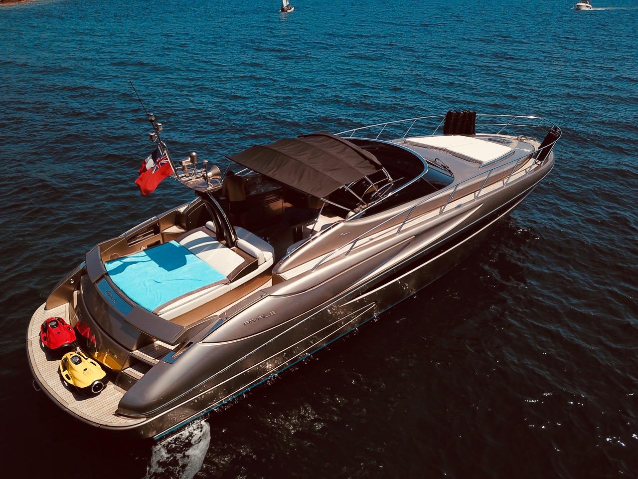 Riva Rivale 52 - bmr bateau occasion théoule sur mer