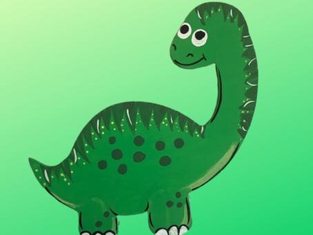 Kids Paint Kit (Dinosaur)
