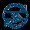 handshake and circular arrows icon