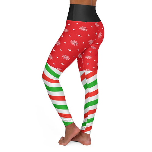 It's Xtmas - High Waisted Yoga Leggings