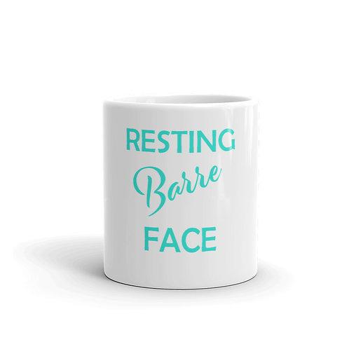 Resting BARRE Face Mug