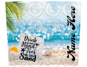 toes in the sand design