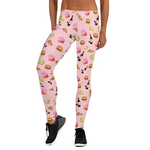 #Yummy Leggings- Pink