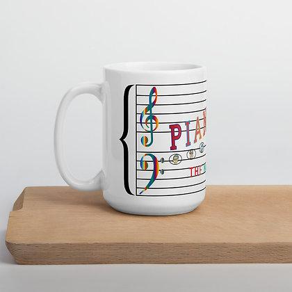PianoVille Ceramic Mugs (11 oz and 15 oz)