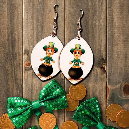 St. Patrick's Earrings