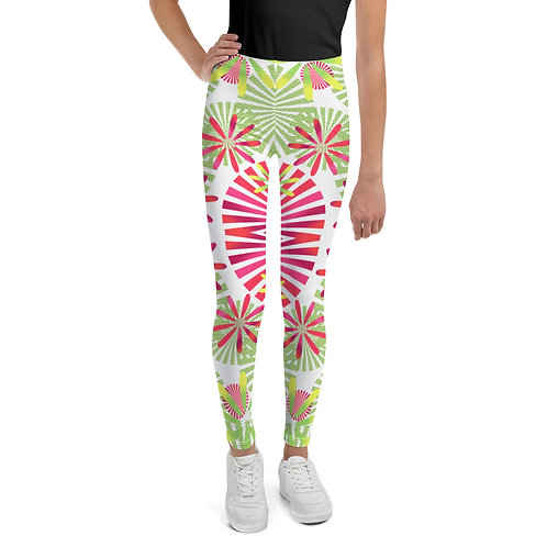 #SpringTime Youth Leggings