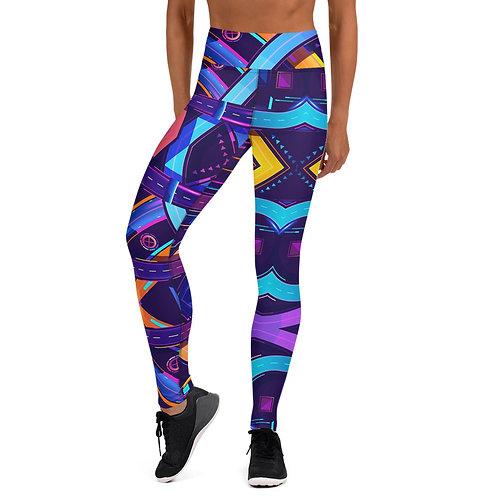 Colorful_Roads Yoga Leggings