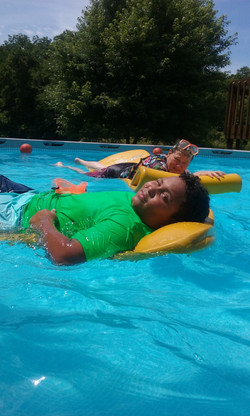 BBQ Picnic Swim Fun