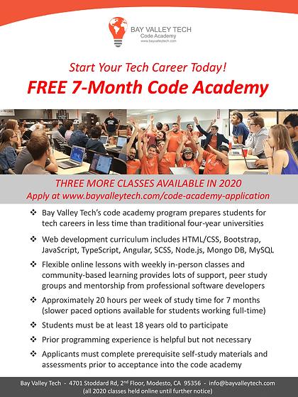 Bay Valley Tech - Free Code Academy Flye