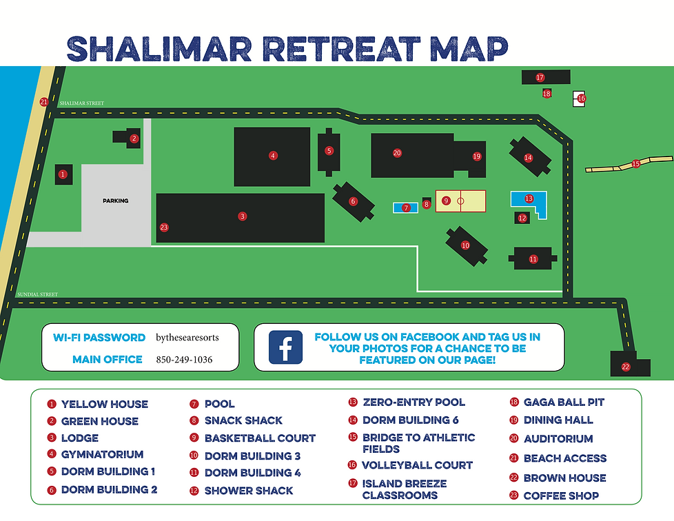 Shalimar Map 2020 with new phone number
