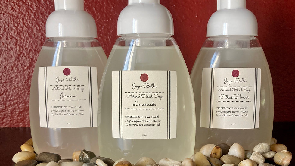 All Natural Foaming Hand Soap