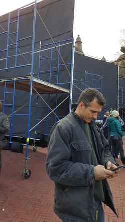 Stunt Coordinator Norman Douglas