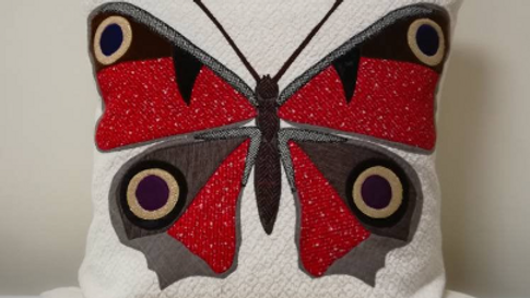 Peacock Butterfly (Made to Order)