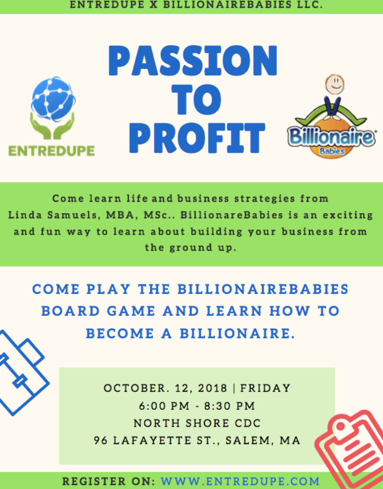 Passion to Profit | A Home for Creators | EntreDupe | Free