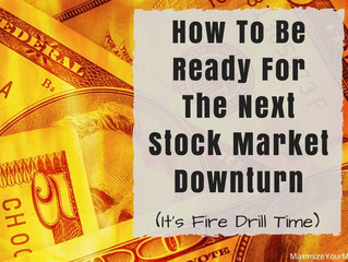 Is It Time For An Investing Fire Drill?