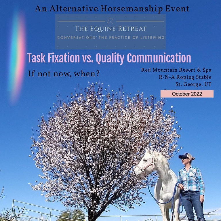 The Equine Retreat- Conversations: The Practice of Listening