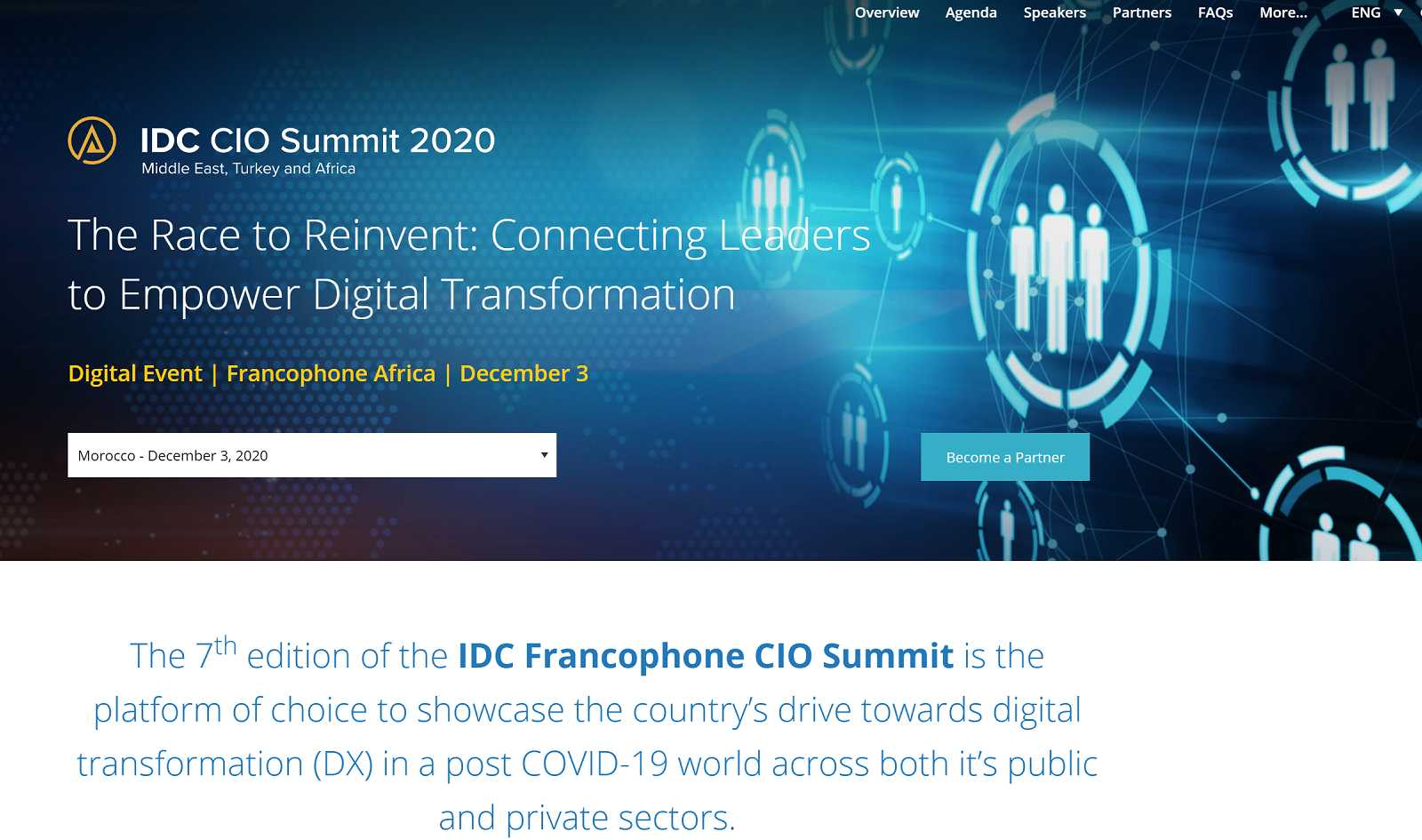 IDC CIO Summit Francophone Africa 2020 W