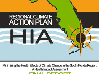 Climate Change Health Impact Assessment in the South Florida Region: Mental Health and Stress-Relate