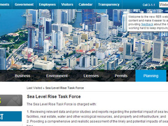Visit To Miami-Dade County Sea Level Rise Task Force ; Report To Be Presented July 1, 2014