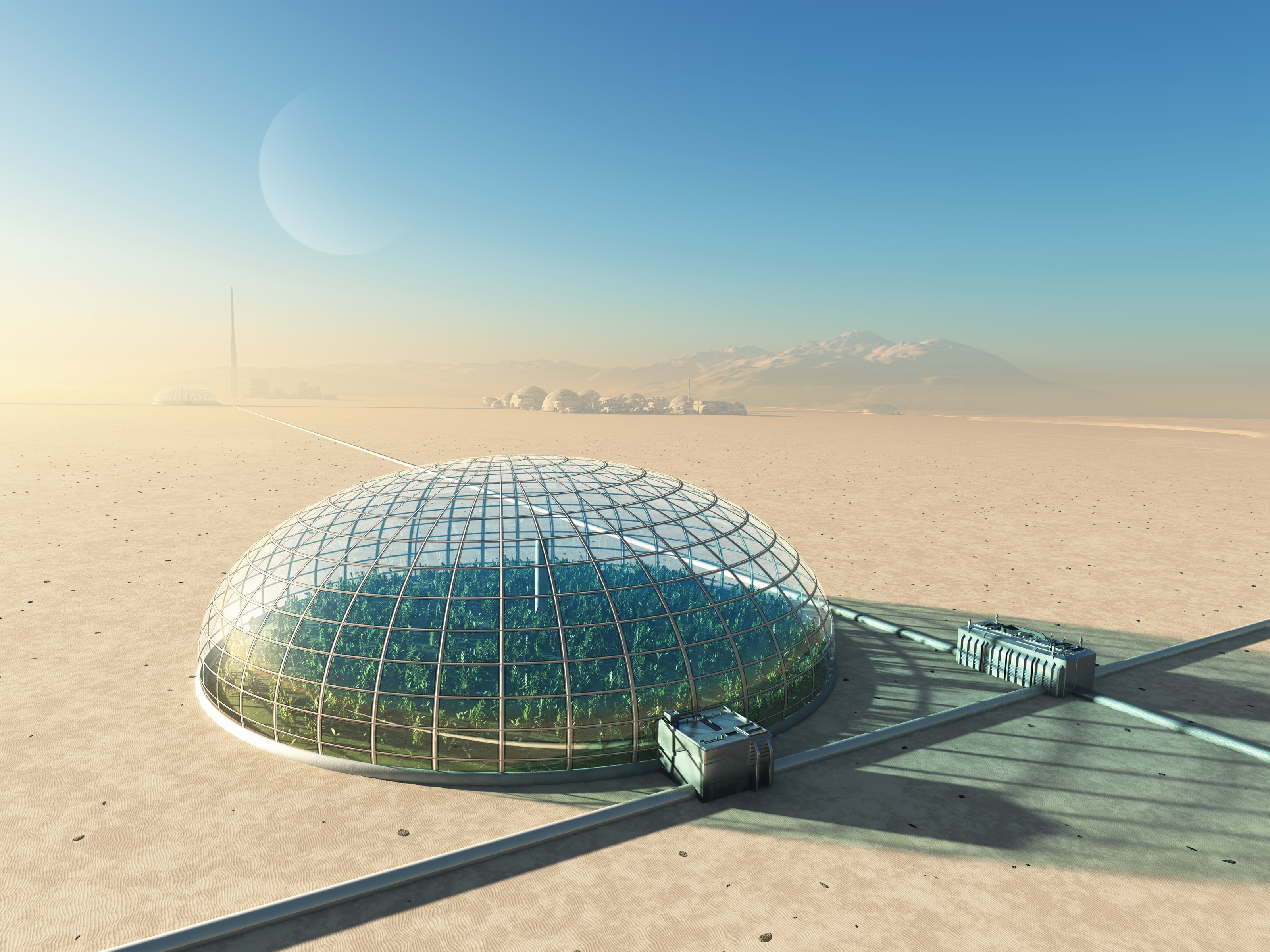 Large Scale Future Greenhouse?