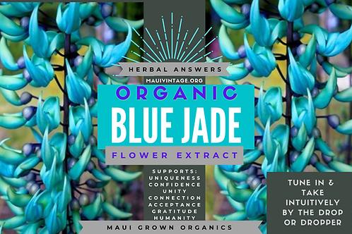 Organic Blue Jade Flower Tincture
