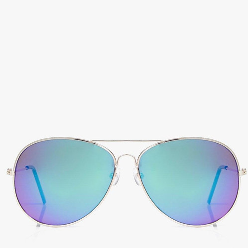 Retro Gold Frame Sunglasses - Aviators - Retro Gold Sunnies