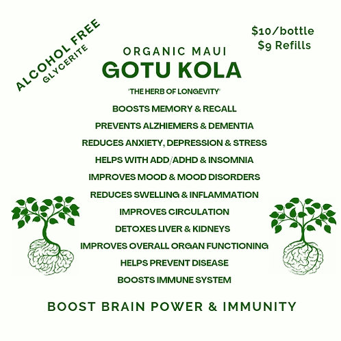 Gotu Kola Glycerite Extract