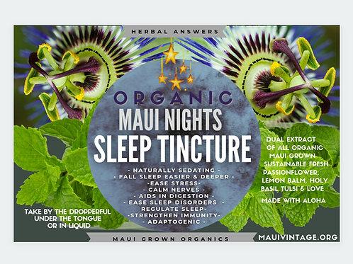Organic Sleep Tincture - Maui Nights