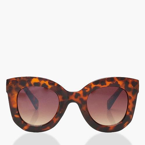 Josie Oversized Retro Tortoise Sunglasses