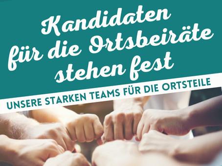 """""""Bürger für Rabenau e.V."""" stellen Kandidatenlisten für die Wahlen der Ortsbeiräte auf"""