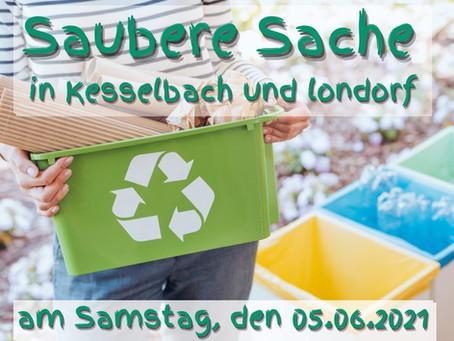 """Saubere Sache"" in Kesselbach und Londorf"