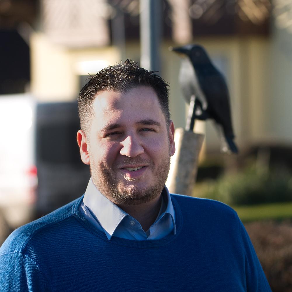 Der neue Fraktionsvorsitzende: Christoph Nachtigall