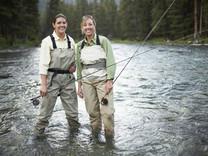 Ladies fishing