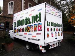 Lettrage camion